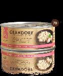 Grandorf Куриная грудка с мясом краба, 70 г