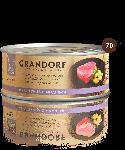 Grandorf Филе тунца с мидиями, 70 г