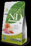 Farmina N&D для взрослых кошек Boar & Apple Adult