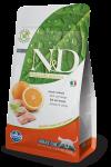 Farmina N&D для взрослых кошек Fish & Orange Adult