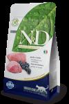 Farmina N&D для взрослых кошек Lamb & Blueberry Adult