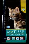 Farmina Matisse Adult Cat Chicken & Turkey