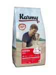 Karmy Medium Adult - корм с телятиной для собак средних пород старше 1 года.