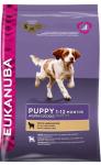 Eukanuba Dog Puppy & Junior для щенков всех пород с ягненком и рисом